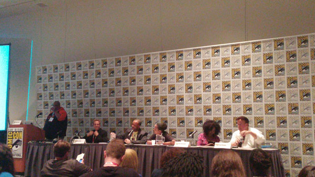 Brandon Easton's Writer's Journey panel about breaking into comics and screenwriting.