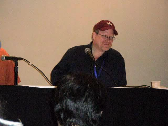 Mark Waid at 2010 Long Beach Comic Con