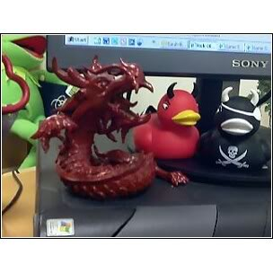 Red Dragon leads some devil ducks